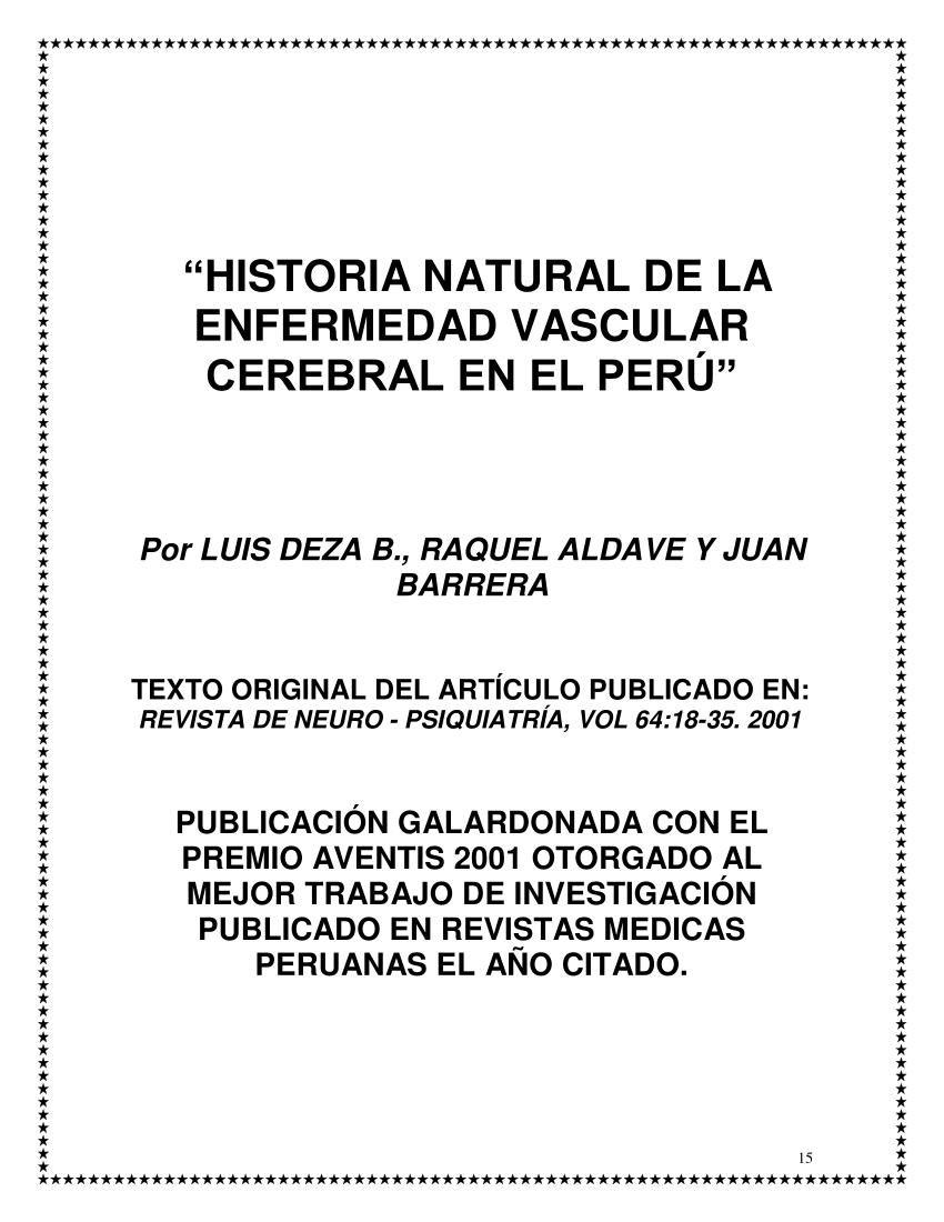 accidente cerebrovascular de origen cardiogenico pdf