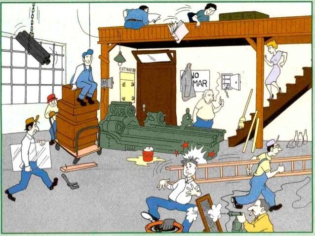 acciones y condiciones inseguras en ambientes laborales