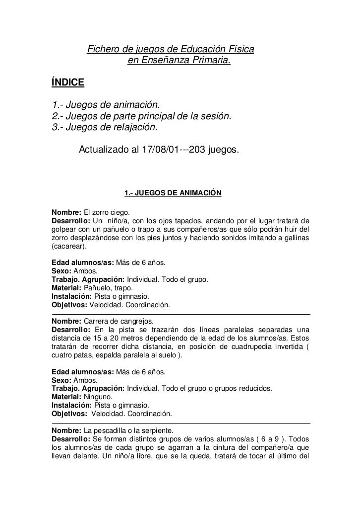 actividades ludicas para estimular la sensacion en adultos pdf