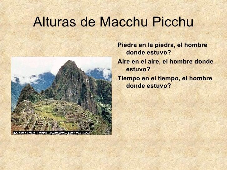 alturas de macchu picchu poema pdf