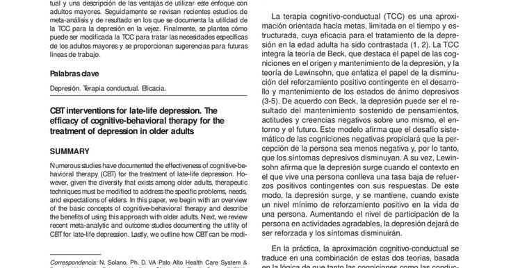 ansiedad en adultos mayores pdf chile