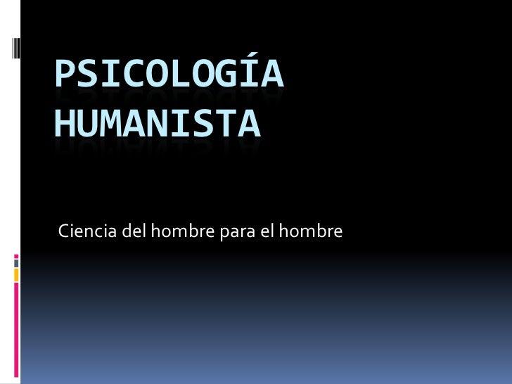 aportes de la psicologia humanista pdf