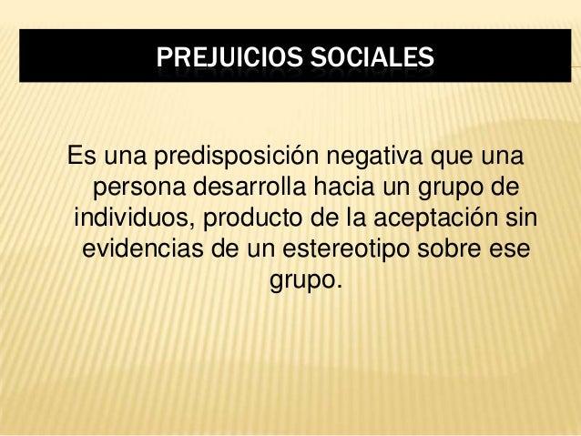 causas de los prejuicios pdf