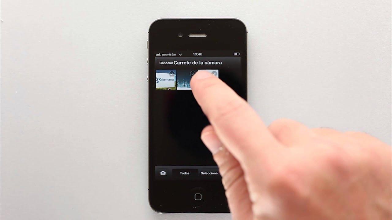 como subir un pdf a un iphone