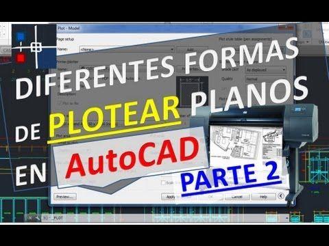 como imprimir en pdf un plano de autocad