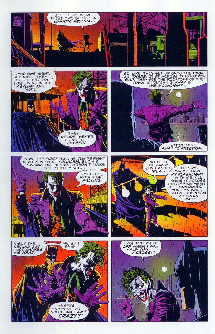 batman the killing joke español pdf