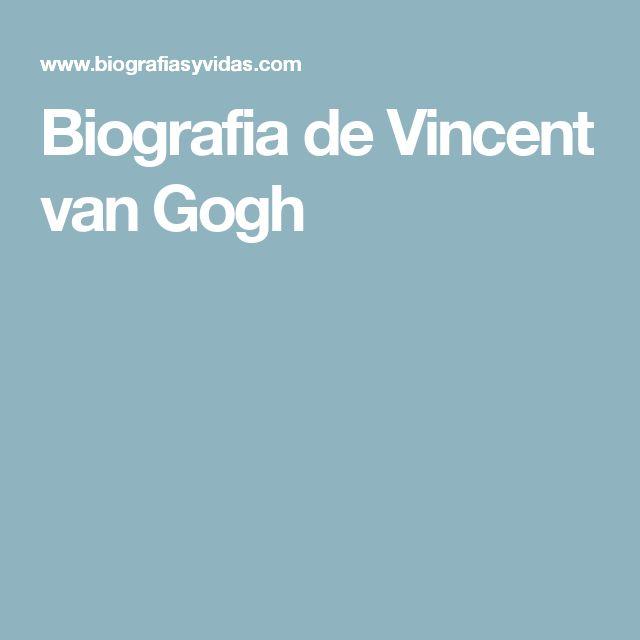biografia de vincent van gogh pdf