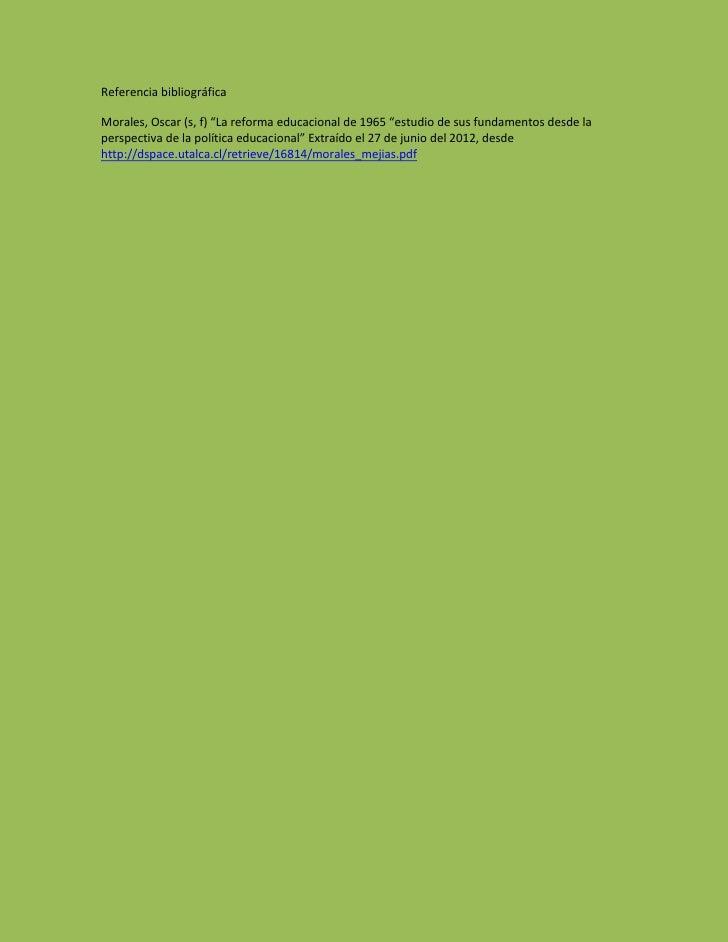decalogo de reforma educacional pdf