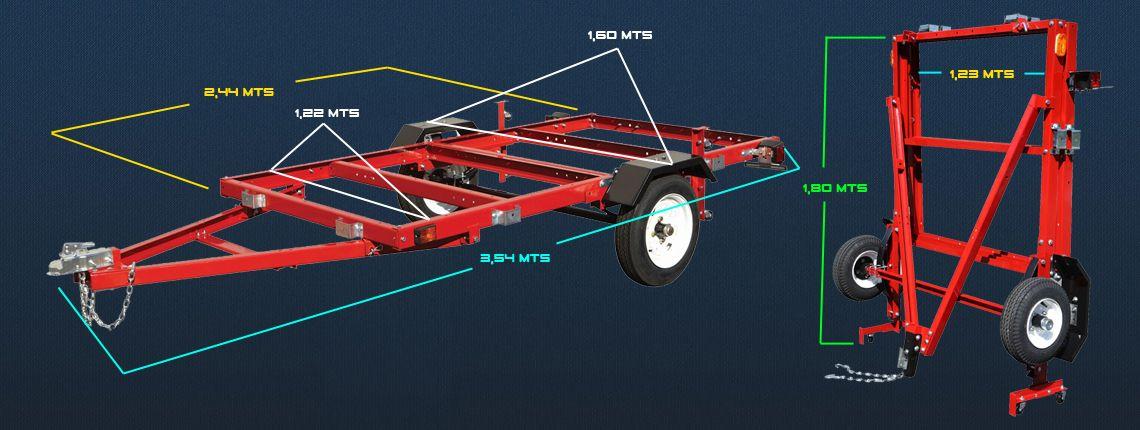 como hacer un carro de arrastre pdf