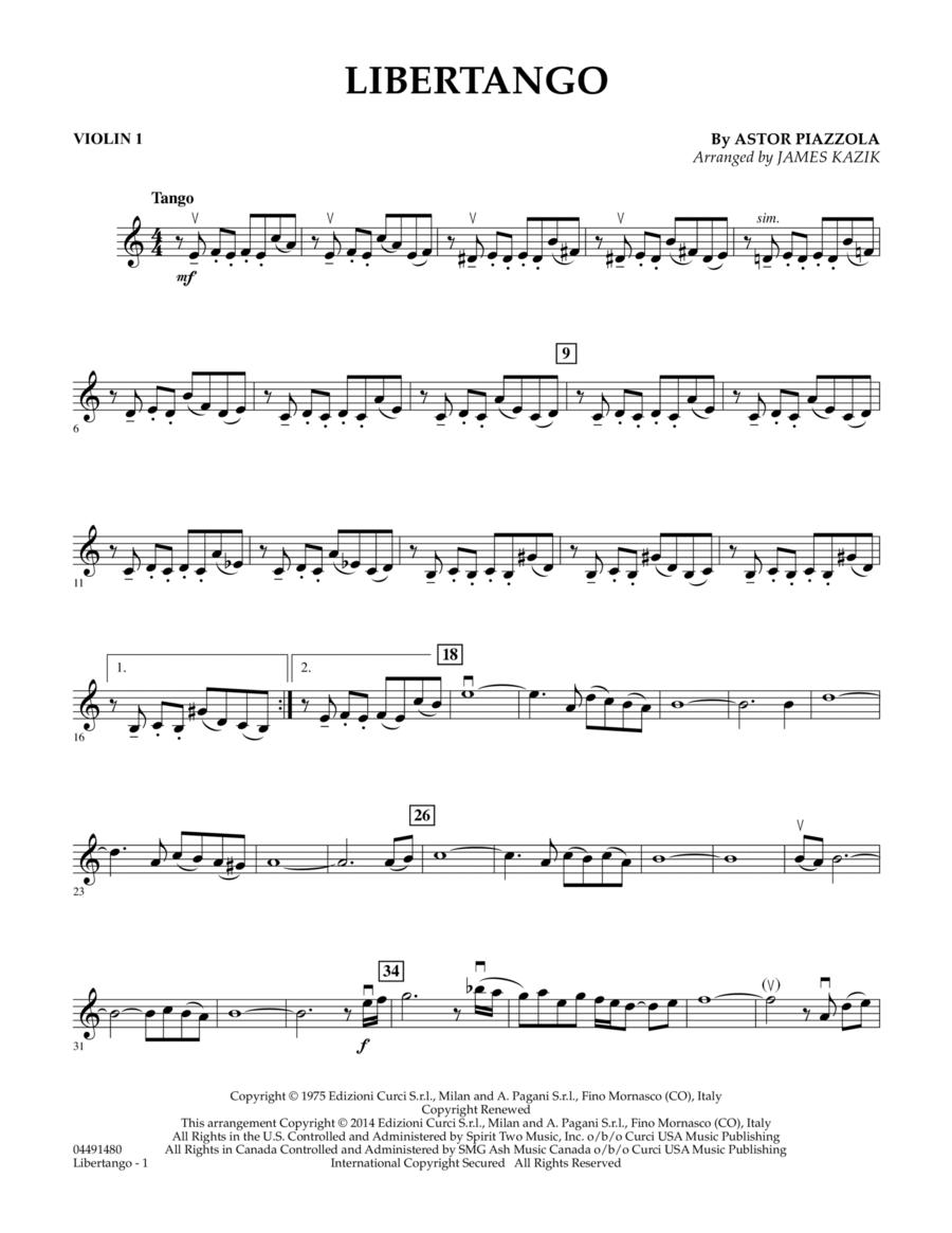 cuarteto violi 1 libertango pdf