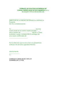 carta solicitud de horario para utilizar dependencias