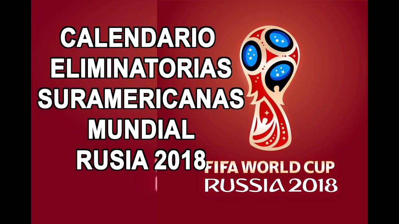 calendario eliminatorias rusia 2018 pdf