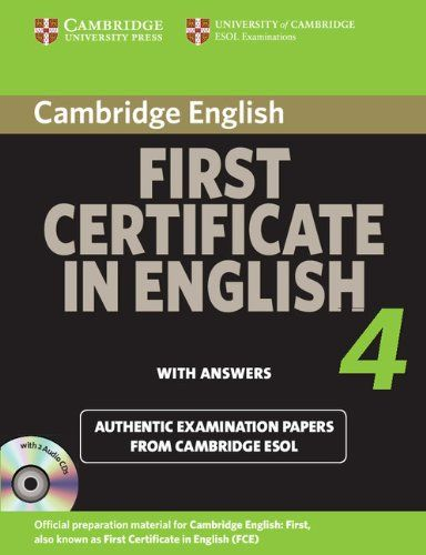 cambridge certificate in advanced english 4 with answers pdf