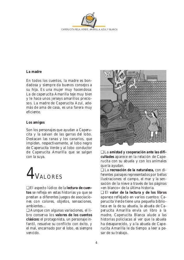 caperucita roja verde amarilla azul y blanca pdf