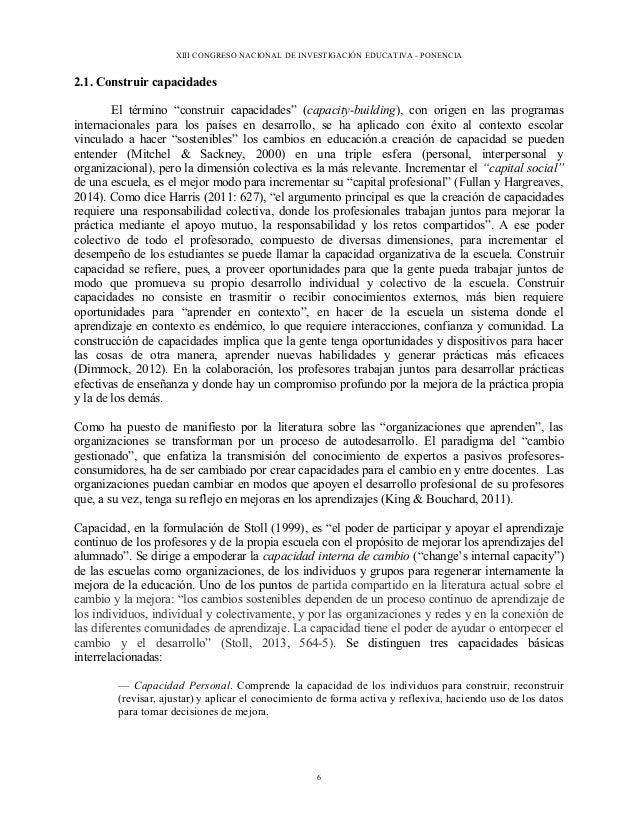 capital profesional hargreaves y fullan pdf