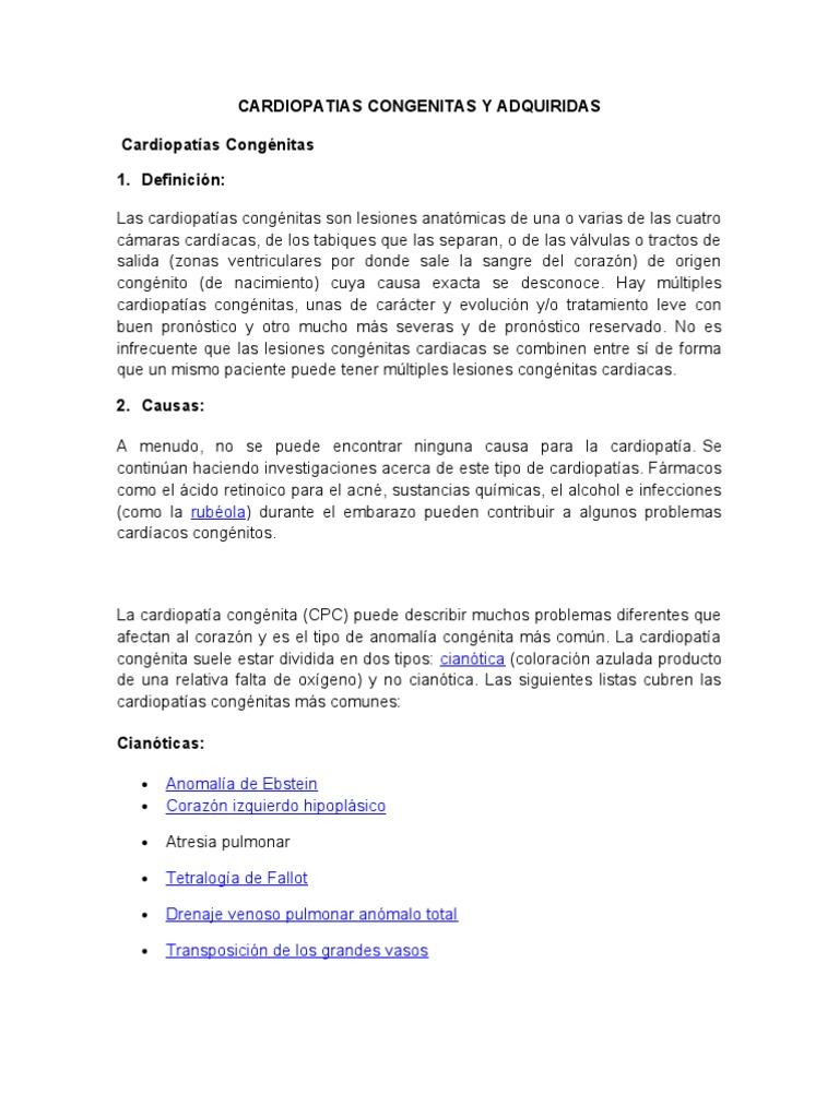 cardiopatias adquiridas en perros pdf