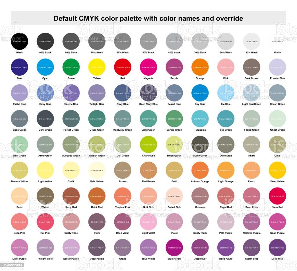 carta de colores cmyk pdf