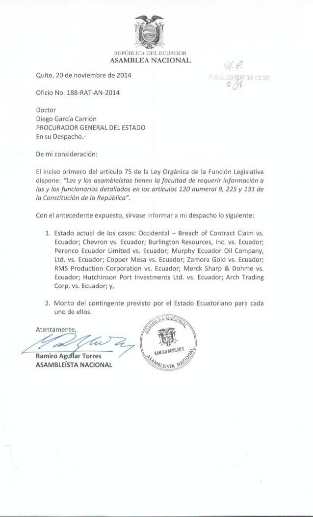 carta de solicitud cotizaciones de requerimiento