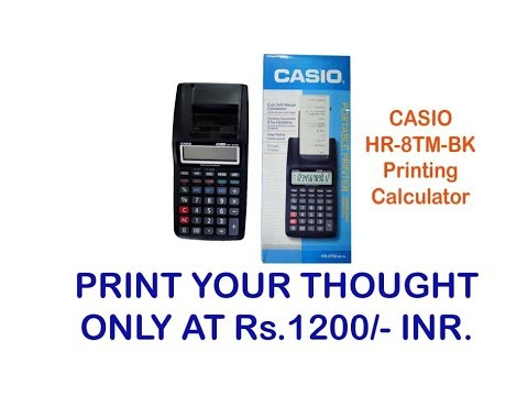 casio hr 8tm manual pdf