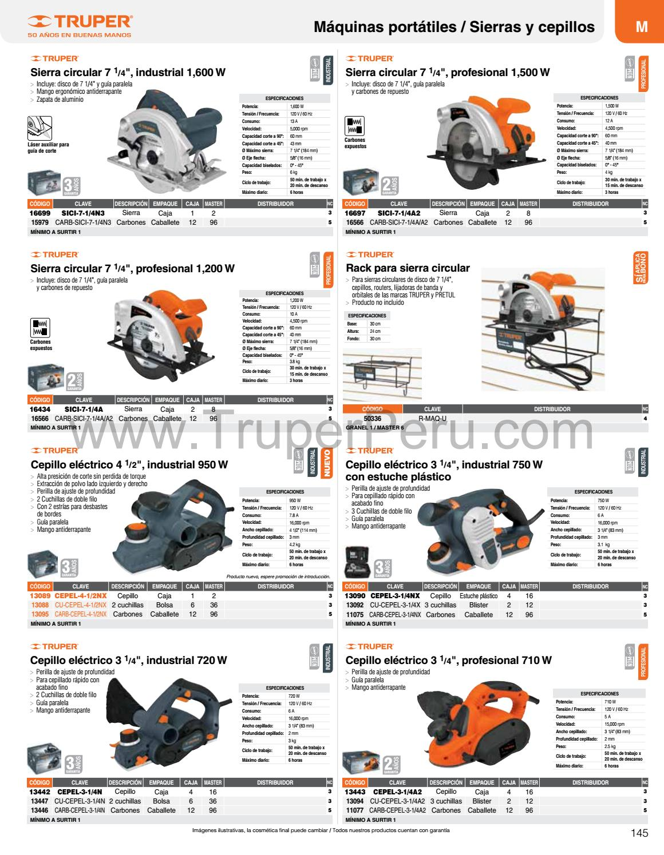 catalogo sierra circular 12 pdf