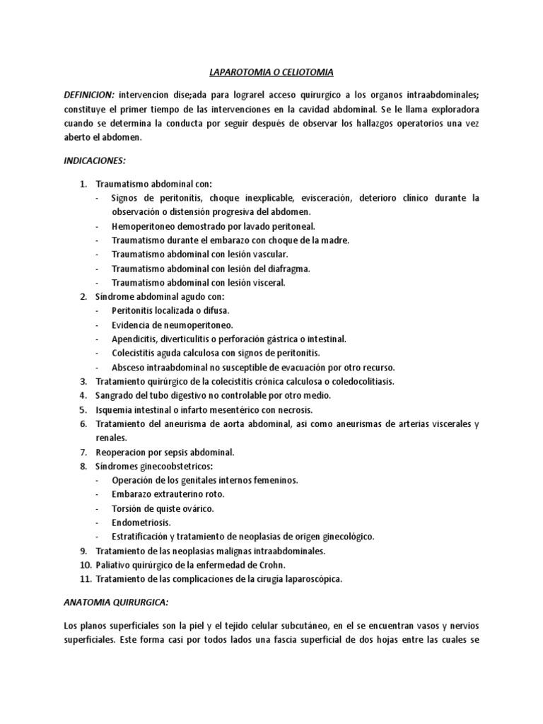 cervicotomia exploradora tecnica quirurgica pdf