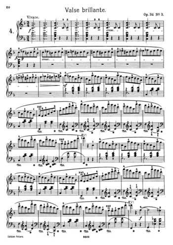 chopin waltz op 64 sheet pdf