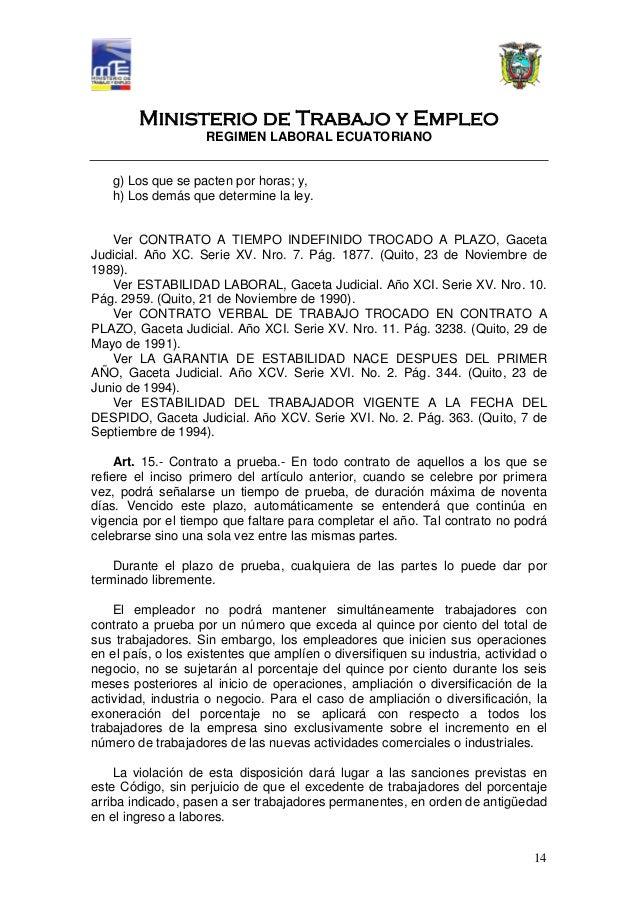 codigo del trabajo pdf contratos