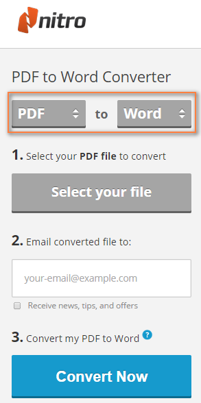 como convertir pdf a ppt nitro