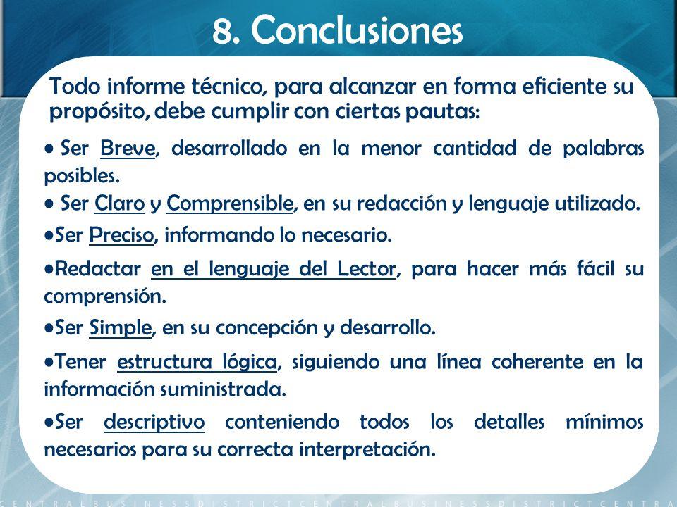 como hacer una conclusion de un trabajo pdf
