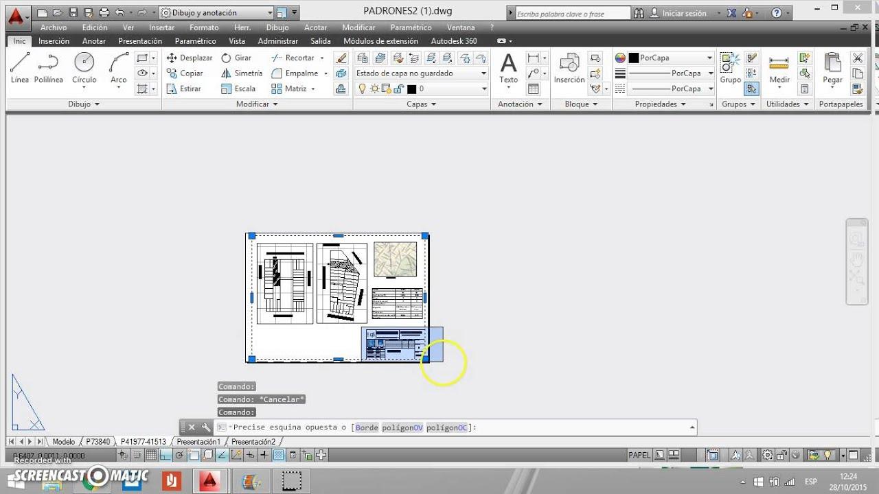como pasar a pdf de autocad