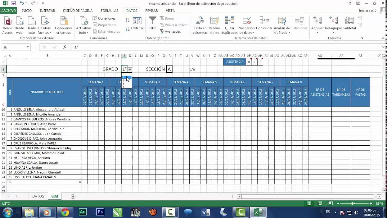 como pasar una planilla excel a pdf