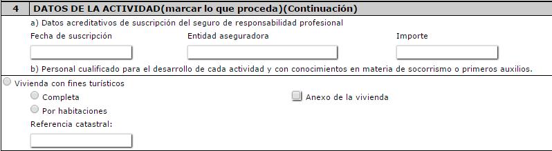 como rellenar una solicitud de regularizacion