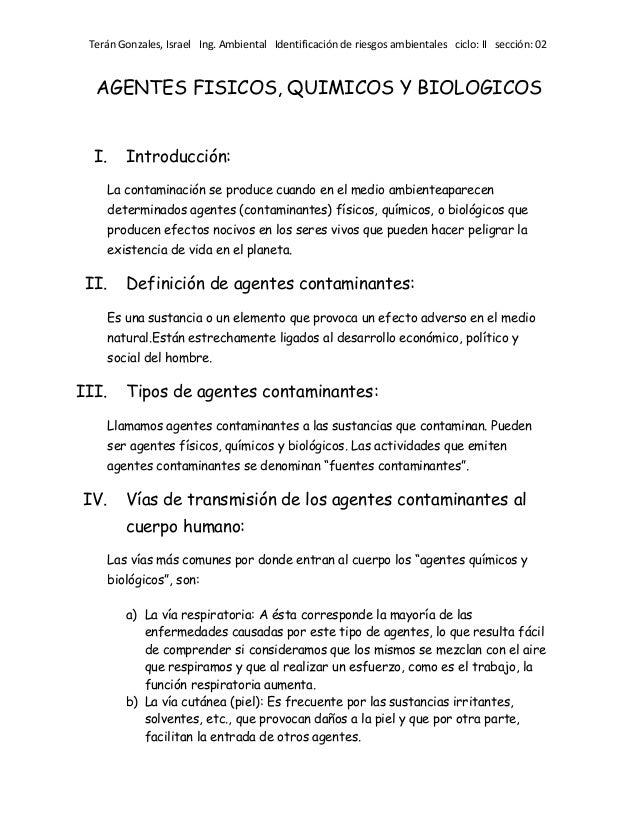 como se contamina el suelo por agentes biologicos pdf