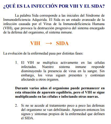 como se transmite el vih pdf