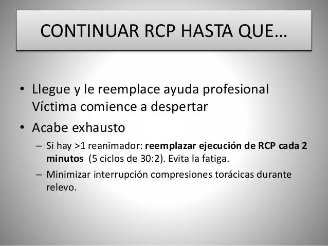 compresiones toracicas vs ventilaciones pdf