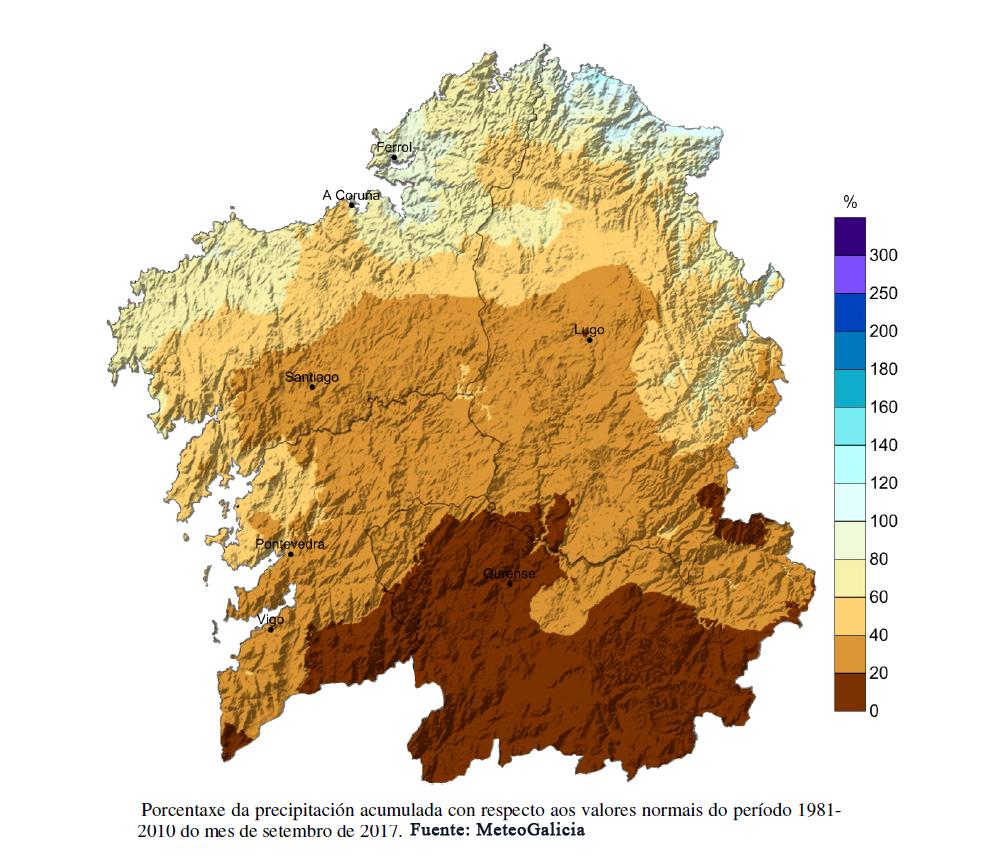 condiciones meteorologicas de octubre en aysen