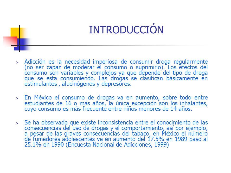 consecuencias de las drogas en los estudiantes pdf