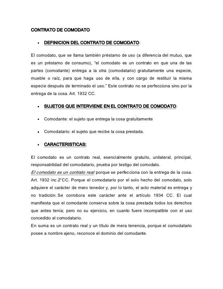 contrato de mutuo ejemplo pdf