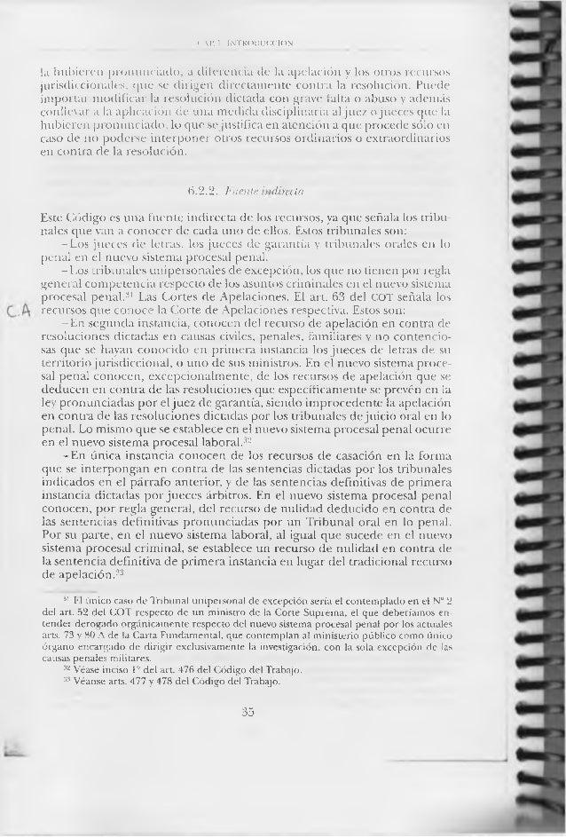 cristián maturana los recursos procesales pdf
