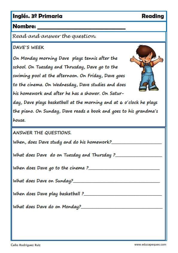 cuentos en ingles faciles para niños pdf