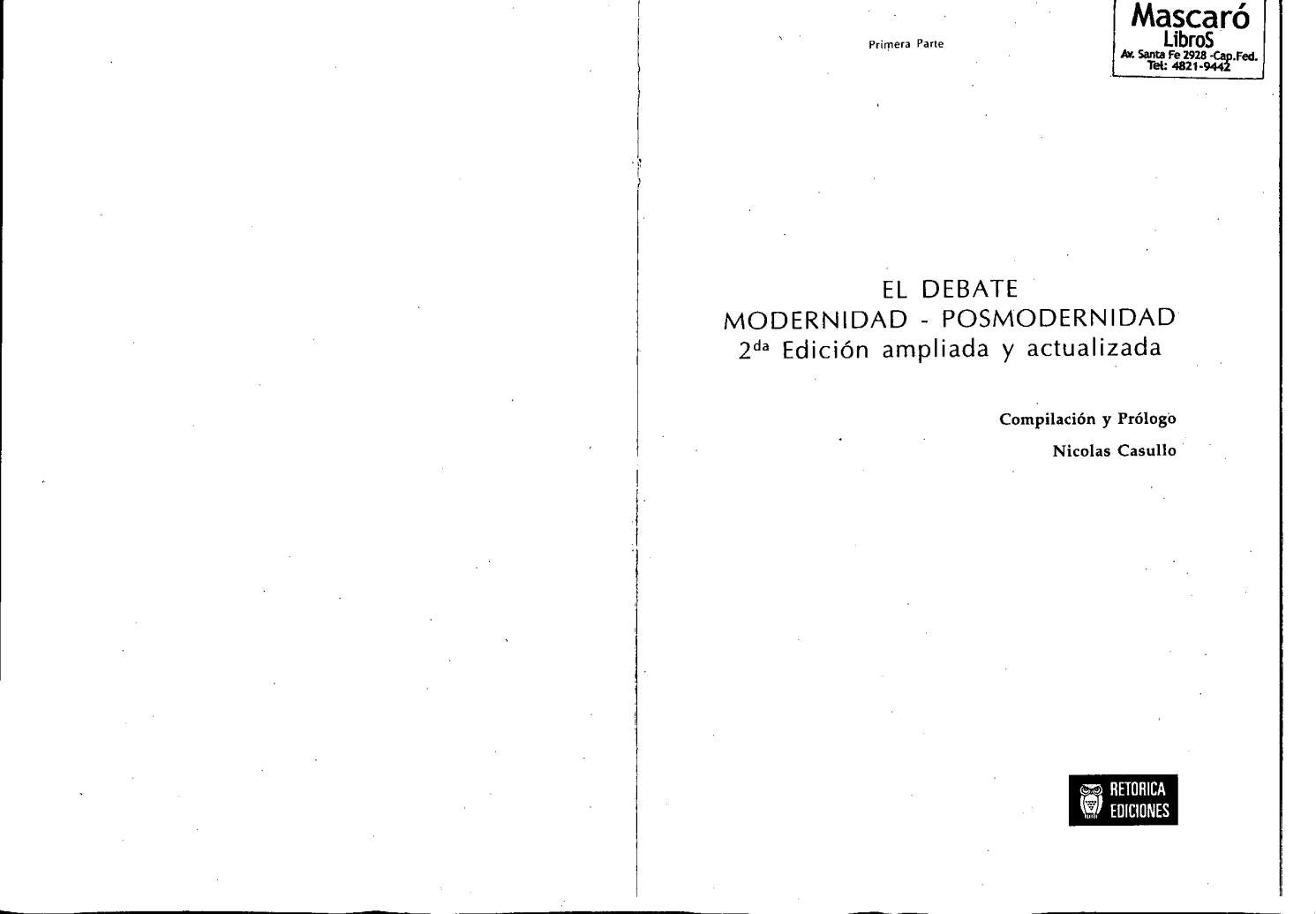anarquismo y la modernidad pdf