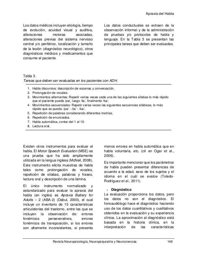 apraxia del habla rafael gonzalez pdf