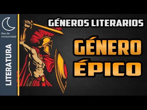 definicion del genero epico pdf