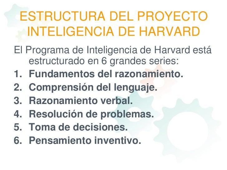 desarrollo habilidad de la inteligencia pdf