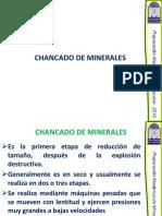 chancado y molienda de minerales pdf