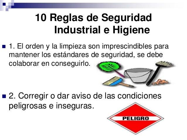 condiciones basicas de higiene y seguridad en el traqbajo