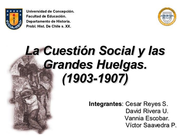 cuestion social chile libro pdf